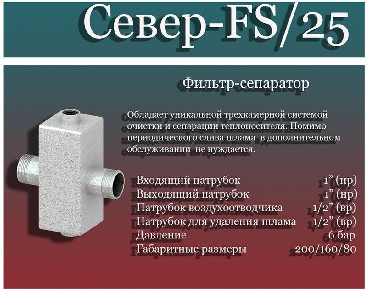 фильтр фс 25
